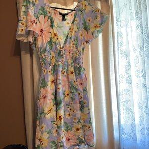 Periwinkle Floral Sun Dress